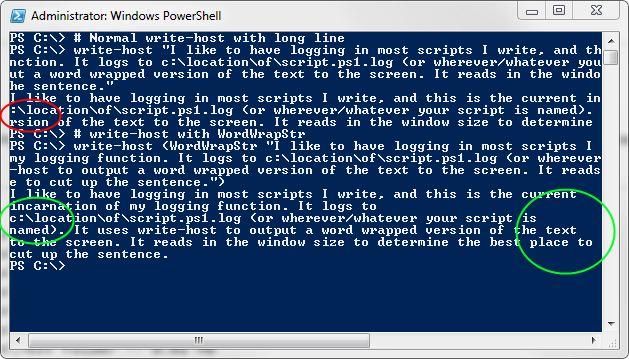 powershell write all output to log